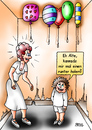 Cartoon: man kann ja mal fragen (small) by besscartoon tagged frau,kind,runter,holen,ballon,luftballon,alte,sex,bess,besscartoon