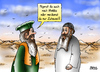 Cartoon: Mekkarei (small) by besscartoon tagged islam,mekka,religion,pilger,männer,bess,besscartoon