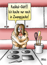 Cartoon: Radikal-Diät (small) by besscartoon tagged essen,trinken,diät,zwangsjacke,kochen,radikal,bess,besscartoon