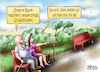 Cartoon: Strafzinsen (small) by besscartoon tagged geld,finanzen,euro,strafzinsen,minuszinsen,banken,ezb,dragi,zinsen,sparer,bess,besscartoon