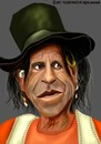 Cartoon: Keith Richards (small) by Vlado Mach tagged keith,richards,rolling,stones,guitar,music