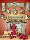 Cartoon: Devil (small) by Palmas tagged absurdo