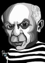 Cartoon: Picasso (small) by Palmas tagged arte