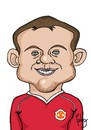 Cartoon: Rooney (small) by Palmas tagged futbolista