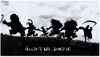 Cartoon: Farewell (small) by Dunlap-Shohl tagged maurice,sendak,ingmar,bergman,wild,things