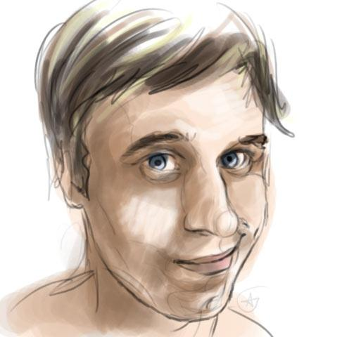 Cartoon: Kamaz (medium) by aGi tagged speedpainting