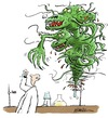 Cartoon: Test-tube (small) by penwill tagged testtube,experiment,creature,monster,lab,laboratory