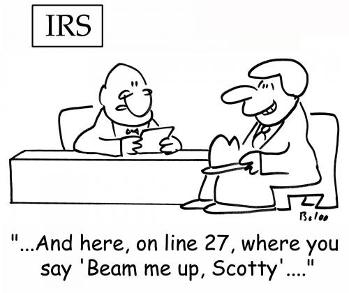 Cartoon: beam me up scotty (medium) by rmay tagged beam,me,up,scotty