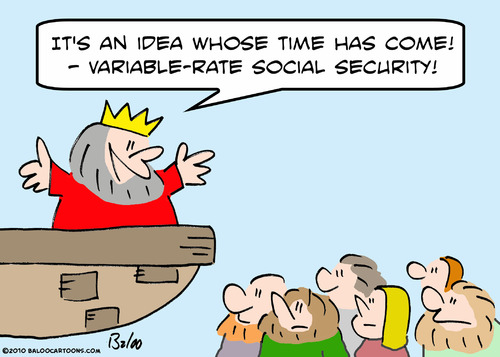 Cartoon: come time idea variable rate (medium) by rmay tagged come,time,idea,variable,rate