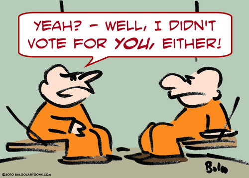 Cartoon: cons cell vote you either (medium) by rmay tagged cons,cell,vote,you,either