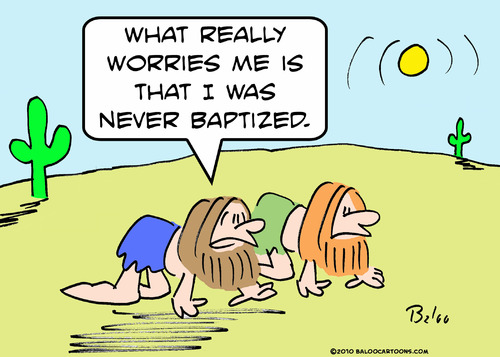 Cartoon: desert crawler baptized (medium) by rmay tagged desert,crawler,baptized