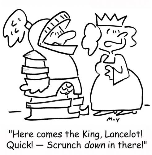 Cartoon: Scrunch (medium) by rmay tagged scrunch
