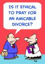 Cartoon: AMICABLE DIVORCE (small) by rmay tagged amicable,divorce
