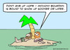 Cartoon: anthony bourdain desert isle (small) by rmay tagged anthony,bourdain,desert,isle