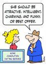 Cartoon: attractive charming dating (small) by rmay tagged attractive,charming,dating,computer,best,offer