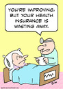 Cartoon: but health insurance wasting (small) by rmay tagged but,health,insurance,wasting