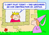 Cartoon: Cant play king prince obstructio (small) by rmay tagged cant,play,king,prince,obstruction,of,justice
