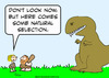 Cartoon: caveman natural selection (small) by rmay tagged caveman,natural,selection