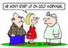 Cartoon: cold mornings start up (small) by rmay tagged cold,mornings,start,up