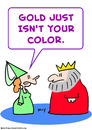 Cartoon: color gold king crown (small) by rmay tagged color,gold,king,crown