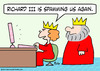 Cartoon: computer spam richard III king q (small) by rmay tagged computer,spam,richard,iii,king