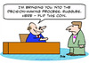 Cartoon: decision making process flip coi (small) by rmay tagged decision,making,process,flip,coi