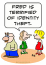 Cartoon: groucho glasses identity theft (small) by rmay tagged groucho,glasses,identity,theft