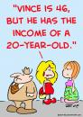 Cartoon: income of a 20 year old (small) by rmay tagged income,of,20,year,old