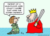 Cartoon: knighthood money instead king (small) by rmay tagged knighthood,money,instead,king