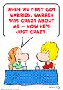 Cartoon: married crazy (small) by rmay tagged married,crazy