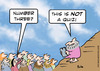 Cartoon: moses not a quiz (small) by rmay tagged moses,not,quiz