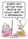 Cartoon: moses recession let people go (small) by rmay tagged moses,recession,let,people,go