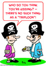 Cartoon: pirate triploon doubloon (small) by rmay tagged pirate,triploon,doubloon