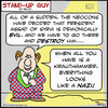 Cartoon: SUG looks like nazi krauthammer (small) by rmay tagged sug,looks,like,nazi,krauthammer