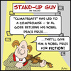 Cartoon: SUG nobel prize fiction al gore (small) by rmay tagged sug,nobel,prize,fiction,al,gore