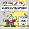 Cartoon: SUG OBAMA AFGHANISTAN (small) by rmay tagged sug,obama,afghanistan