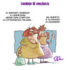 Cartoon: Mourning (small) by OQ tagged lampedusa