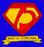 SuperMan 75 birthday party